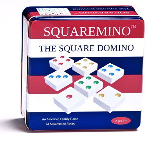 Squaremino Tile Game | Board Game | Family Game | Kids Game | Abstract | Strategy | Educational | Learning | Sensory | Tactile | Stress Relief | Game | Toy | Tool | Gift | Kids | Boy | Girl | Birthday