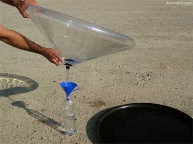 Le Watercone, de l'eau potable à bas coût