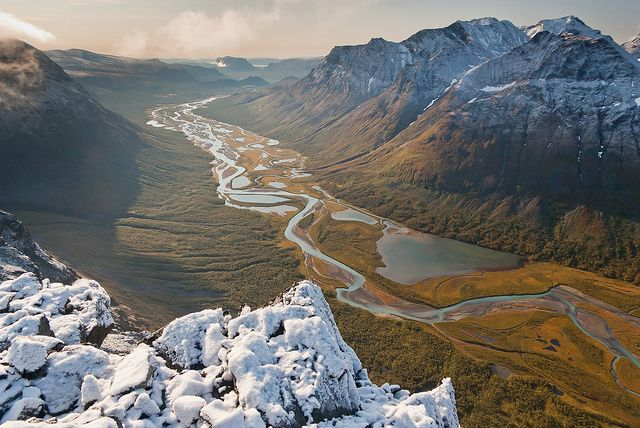 Sarek National Park, Sweden. Immensity of the place