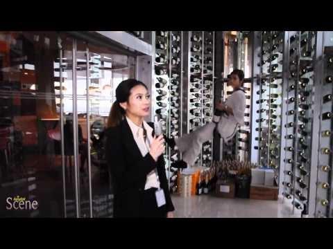 Wine Angel @ Centara Grand Hotel Bangkok. Movie by Paul Hutton, Bangkok Scene.