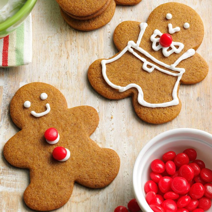 Swedish Gingerbread Cookies Recipe -Making Swedish <i>pepparkakor</i>—or gingerbread cookies—is a holiday tradition for our family. I entered these at the Iowa State Fair and took home a blue ribbon.—Kathleen Olesen, Des Moines, IA