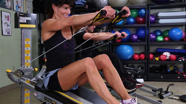 The Total Gym Challenge Workout with Photos of each exercise featuring Rosalie Brown #totalgym #totalgymchallenge