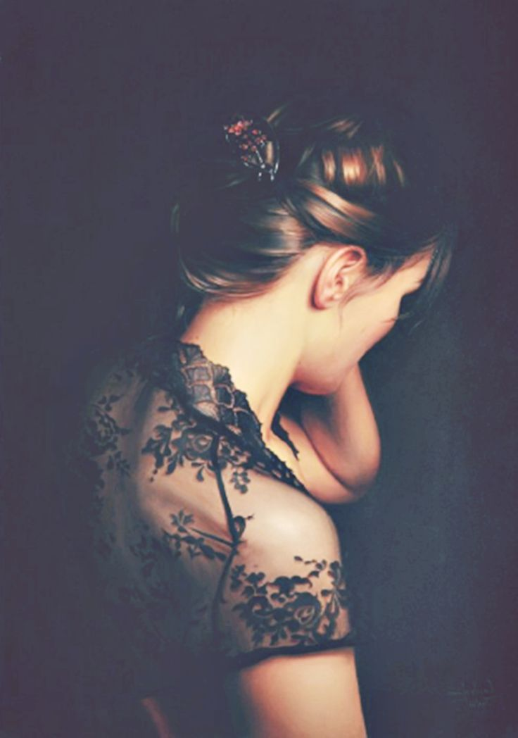 Image result for shoulderless  blouse woman and night artwork