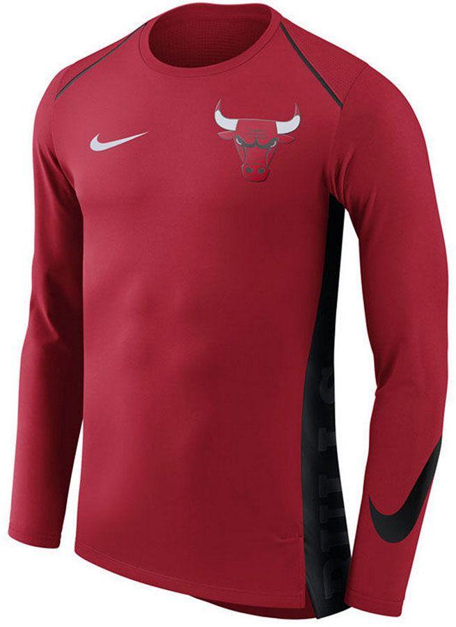 Nike Men's Chicago Bulls Hyperlite Shooter Long Sleeve T-Shirt