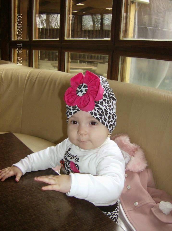 Turban baby leopard by Anamaria Ami