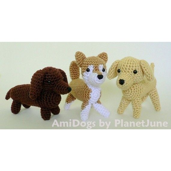 Amigurumi Supplies : Special deal amidogs set amigurumi dog pdf by