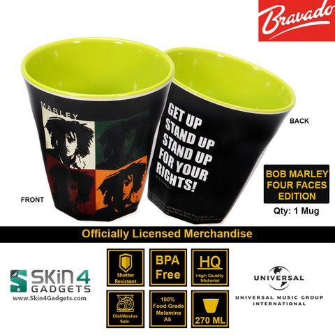 Universal Music/ Bravado Officially Licensed Merchandise Artist: BOB MARLEY – 4 Faces Edition