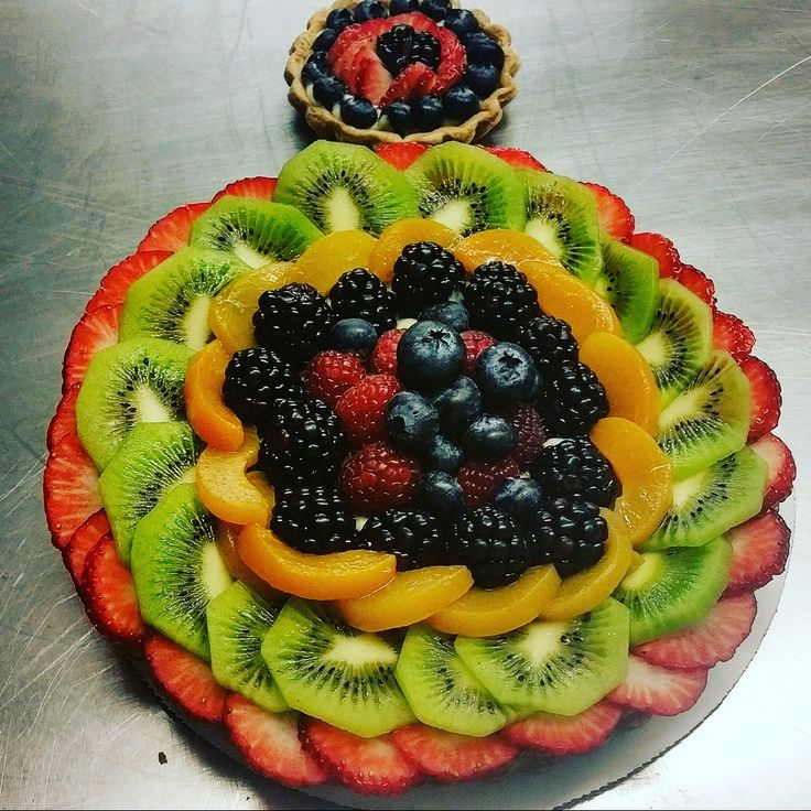FRESH FRUIT TART www.marriedandcooking.com