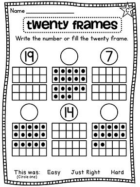 111 best Math-Tens Frame/Number Sense images on Pinterest