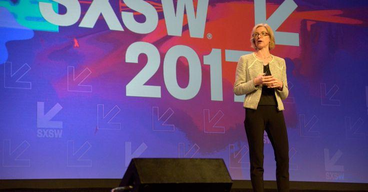 CRISPR pioneer Jennifer Doudna shines hope on the future of genetic modification at SXSW #Tech #iNewsPhoto