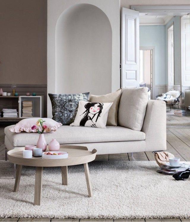 Deco Couleur Lin Un Elegant Intemporel Decoration Maison Deco