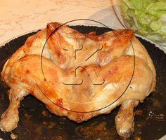 Pollo arrosto in microonde