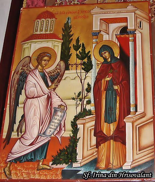 Sfânta Irina, Stareţa Mănăstirii din Hrisovalant