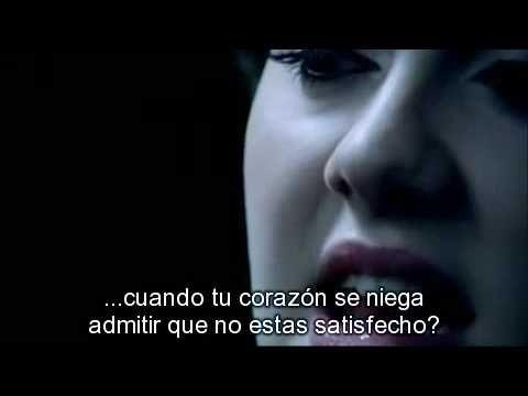▶ Adele - Cold shoulder [Subtitulado al Español] - YouTube