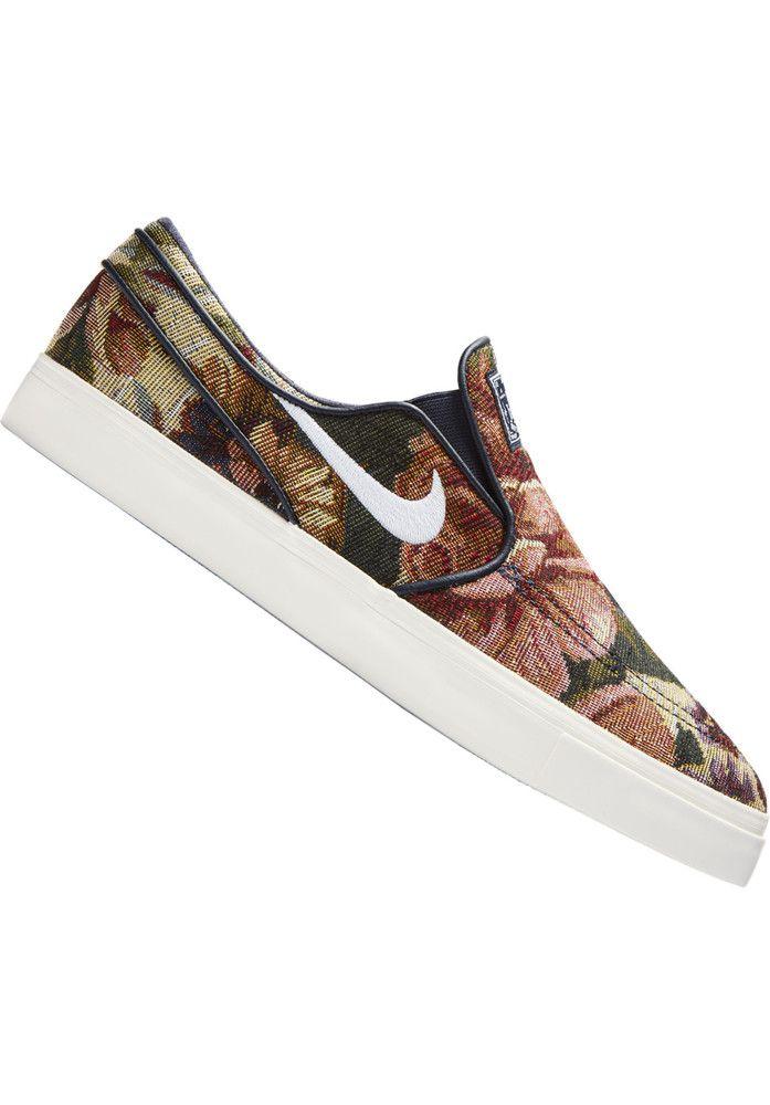 Nike-SB Zoom-Stefan-Janoski-Slip-On-Canvas-Premium - titus-shop.com  #MensShoes #MenClothing #titus #titusskateshop