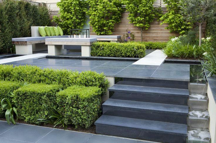 Korzen is in the garden: Charlotte Rowe Garden Design - London
