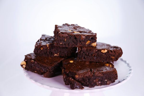 Daphne Oz's brownies.  Made with teff flower, thus higher in protein.  According to Ms. Oz, this flower balances out the sugar processing in the body, making the recipe more friendly to folks with diabetes or pre-diabetes.