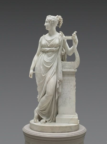 Terpsichore Lyran (Muse of Lyric Poetry) The Cleveland Museum of Art's marble version of Terpsichore, dated 1816.