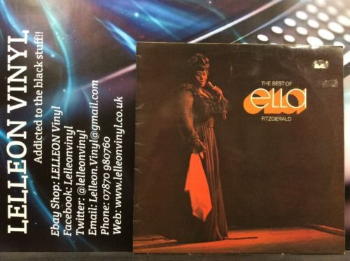 The Best Of Ella Fitzgerald LP Album Vinyl Record MCF2569 A1/B1 Soul Jazz Music:Records:Albums/ LPs:R&B/ Soul:Soul
