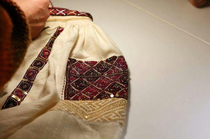 Romanian blouse - Vlasca, Teleorman. Handmade by Caro Barzaianu