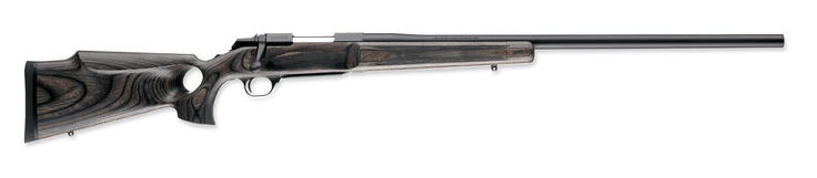 Browning M1000 Eclipse in .300 win mag with a thumbhole stock, bull barrel and BOSS muzzle break