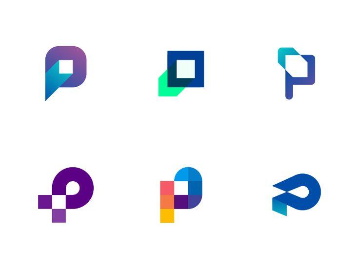 P Monogram - Unused marks by Jeroen van Eerden