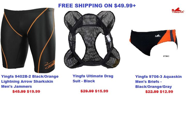 Best deals to shop men competition swimwear online are available on YINGFA USA website. Here, you will find the best quality FINA approved items with free shipping offer. For more info call at 6267578500