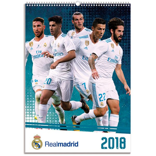 Real Madrid 2018 Calendar