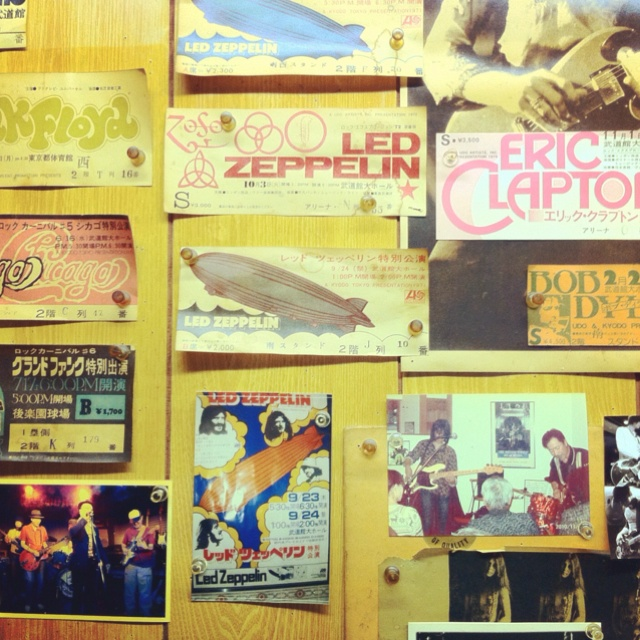 Concert Tickets to Classic Rock Band's Tokyo Gigs at Okame in Akihabara, Tokyo.