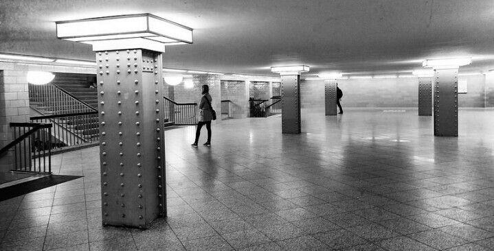 Alexanderplatz. Subway.