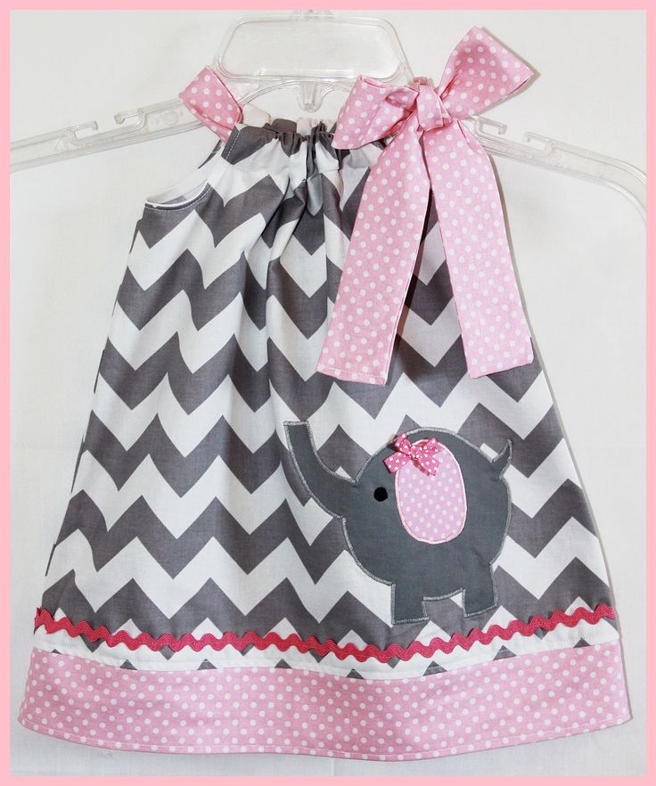 Ella must have this!!  chevron baby girl dress- etsy