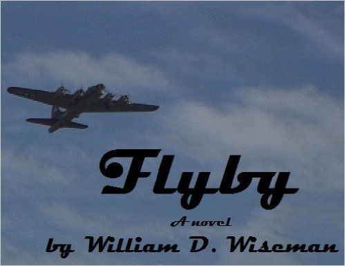 Flyby reflects Wiseman's own experiences as a military brat through the eyes of the protagonist, Dave. As a child who spends most of his time on military bases, Dave has recurring nightmares featuring aerial bombing and combat. He encounters a stranger during an air show at a Royal Air Force base, when he tours an old B-17.