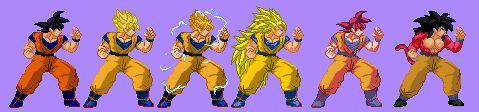 Image result for goku transformation