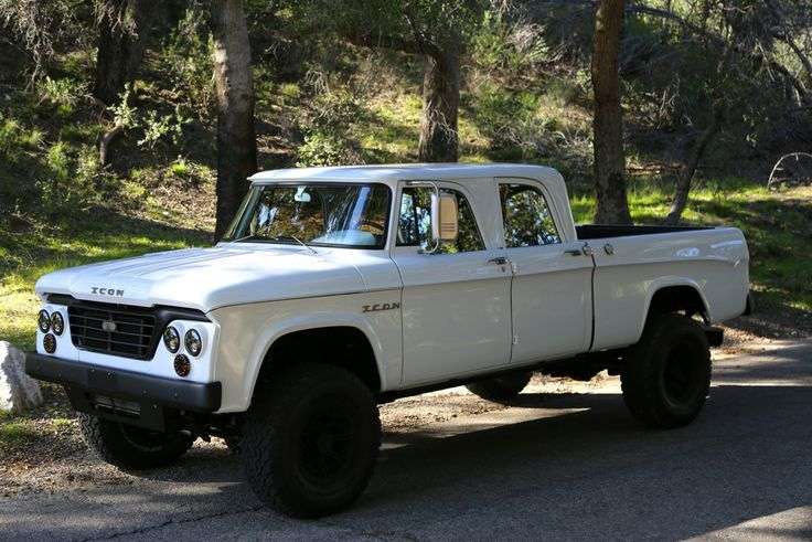 1965 Dodge D200 Power Wagon | ICON | Livery | Pinterest ...