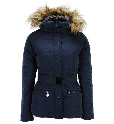 Doudoune Galeries Lafayette, achat Doudoune Wynona Pepe Jeans en bleu marine pour Femme prix promo Galeries Lafayette 189,00 € TTC