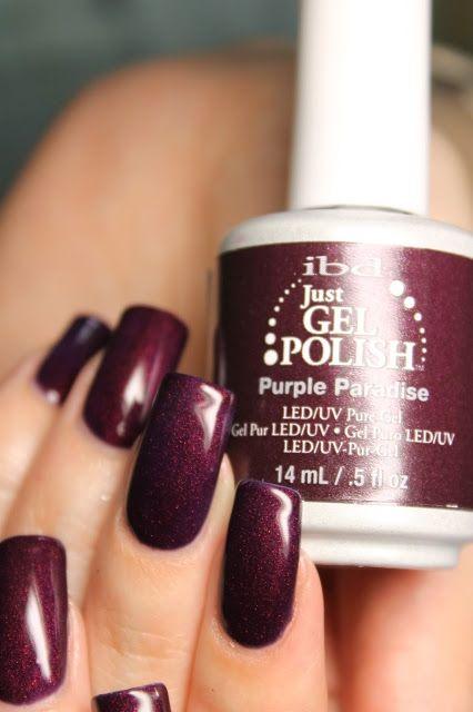 Гель-лак Ibd Just Gel Polish Purple Paradise | ForNails ...