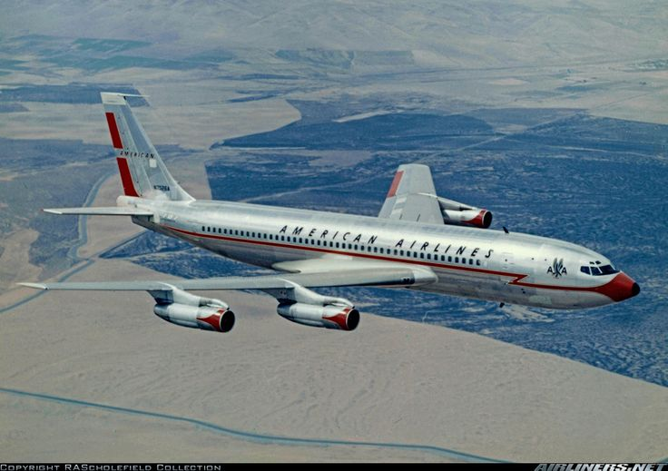 Boeing 707-123B aircraft picture, Dad started at Boeing in 1950 and worked there for 20 years.