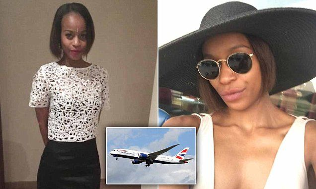 Stylist given life ban from all BA flights for 'stretching her legs'