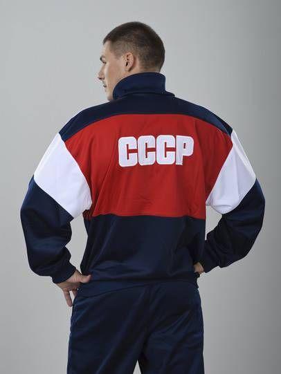 Олимпийка сборной СССР: ретро и винтаж, красная, синяя, с гербом, Umbro