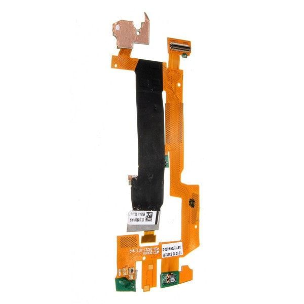 Main Slide Flex Cable Ribbon Replacement Repair Parts for Blackberry Torch 9800. Compatible With: Blackberry Torch 9800 Features: Replace your broken,damaged,cracked, unusable Main Slide Flex Cable. Package Included: 1x Sliding Flex Cable for Blackberry Torch 9800