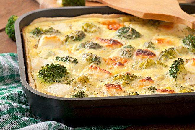 Gratin brocoli-fromage