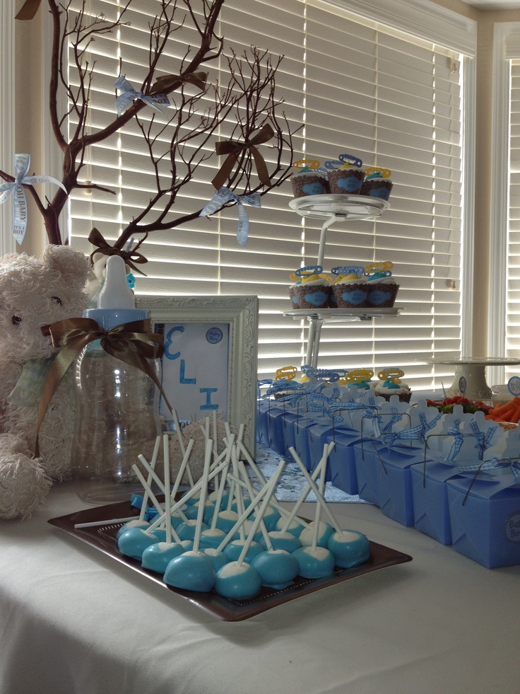 Baby shower teddy bear theme for events pinterest - Baby shower ideas economicas ...