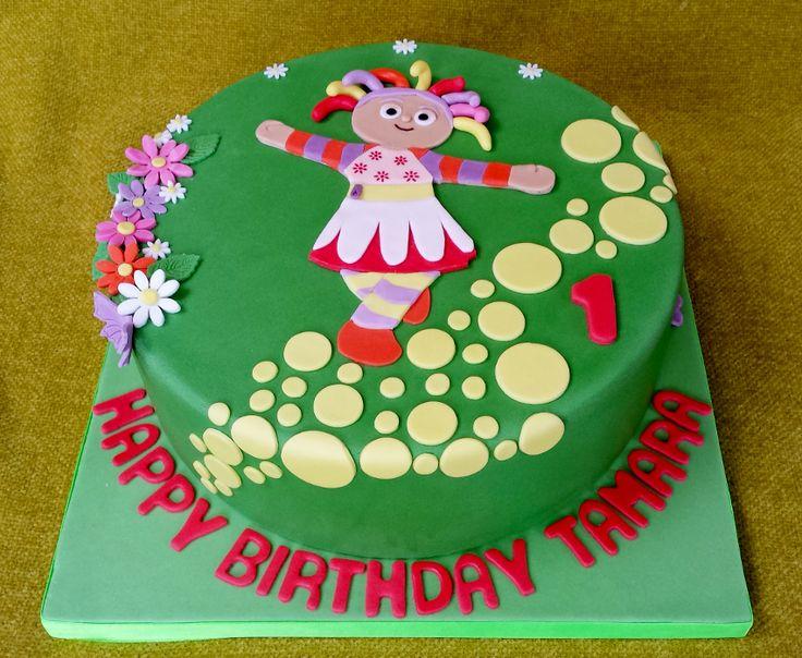 upsy daisy cake - Google Search