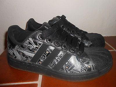 Adidas Superstar Gr 36 UK 3,5 schwarz 915033 black Pharrell Williams 2007