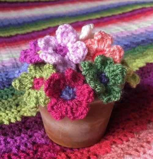 Thepinkrosefairy Crochet Flowers Pea Flower Crochet Edging Patterns Free