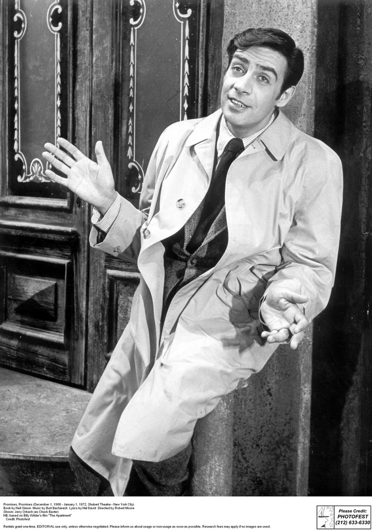 Jerry Orbach in Promises, Promises 1969