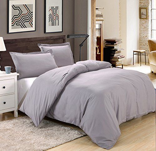 Colourful Snail 3-piece Luxury Duvet Cover Set, Includes Duvet Cover and 2 Matching Pillow Shams, Ultra Soft and Easy Care, Wrinkle and Fade Resistant, Queen/Full, Grey ** You can find more details by visiting the image link.