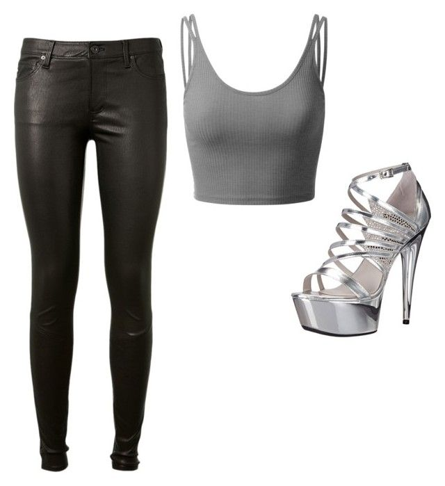 """""""Styles is life"""" by ophelierose on Polyvore featuring mode, Doublju, Ellie Shoes et AG Adriano Goldschmied"""
