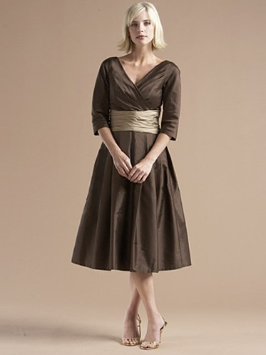 MOB dress - would be pretty in Champagne