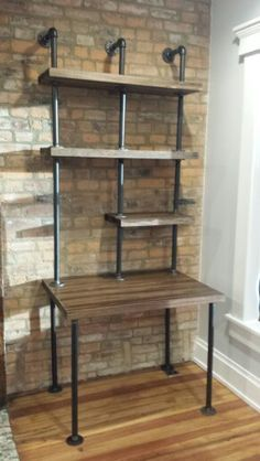 diy galvanized pipe desk - Google Search